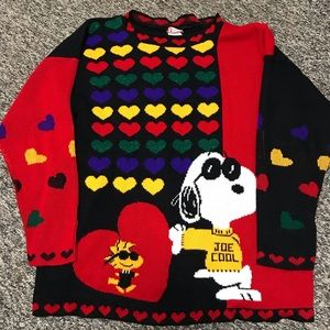 Vintage Snoopy and Friends Sweater